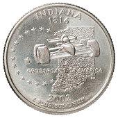 quarter dollar coin