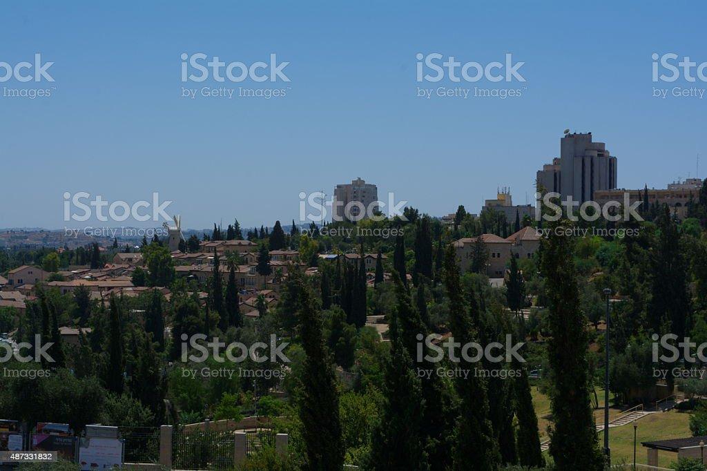 quarter of Jerusalem stock photo