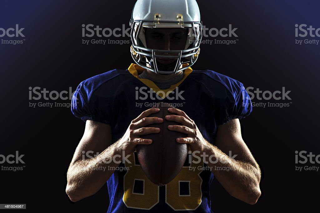 Quarterback stock photo