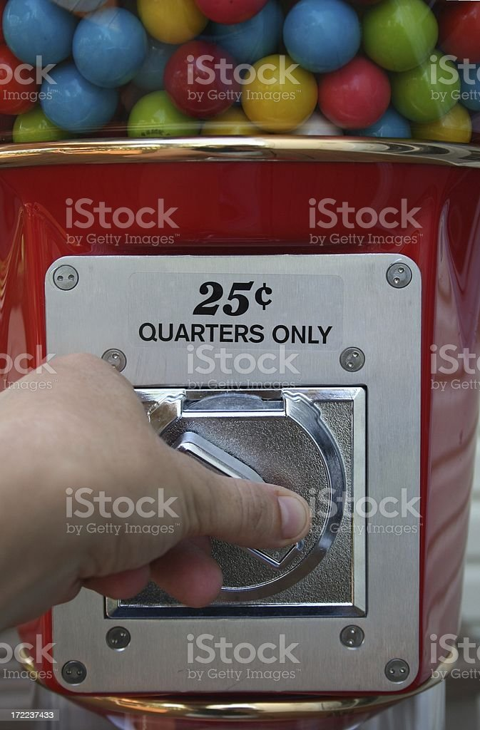 Quarters only royalty-free stock photo