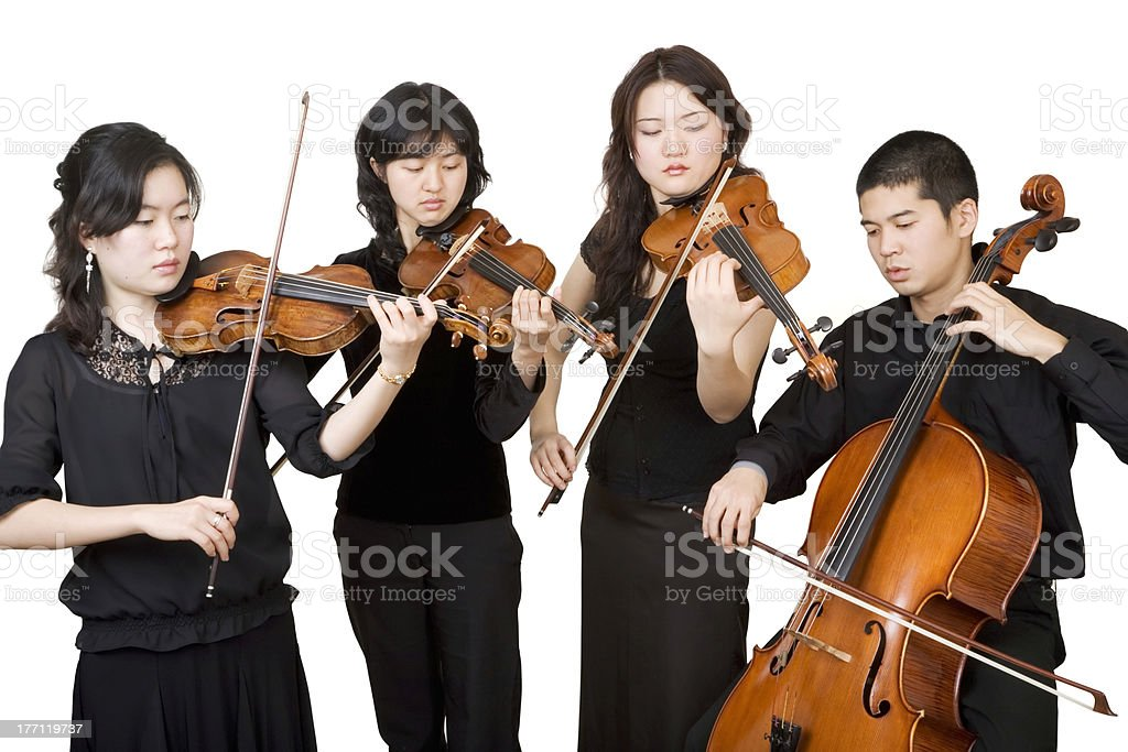 Quartet stock photo