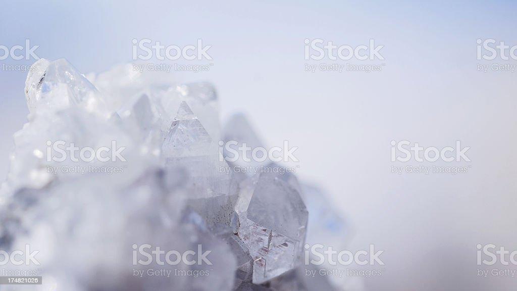 Quartz Crystal royalty-free stock photo