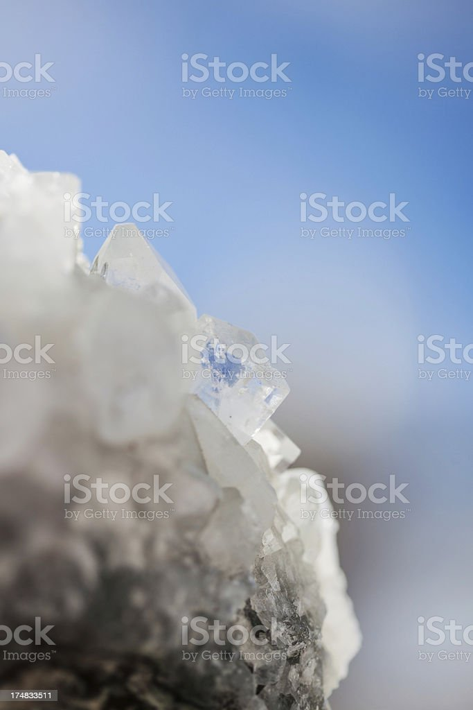 Quartz Crystal royalty-free stock photo