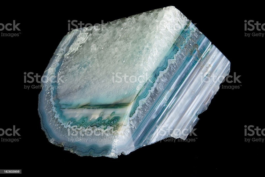Quartz geode stock photo