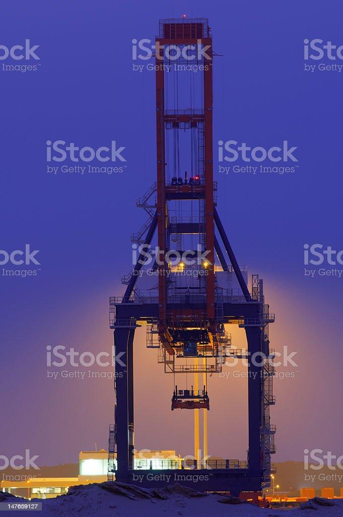 Quay Crane royalty-free stock photo