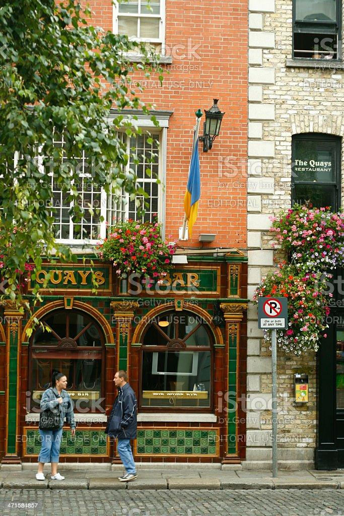 Quays Irish Restaurant royalty-free stock photo