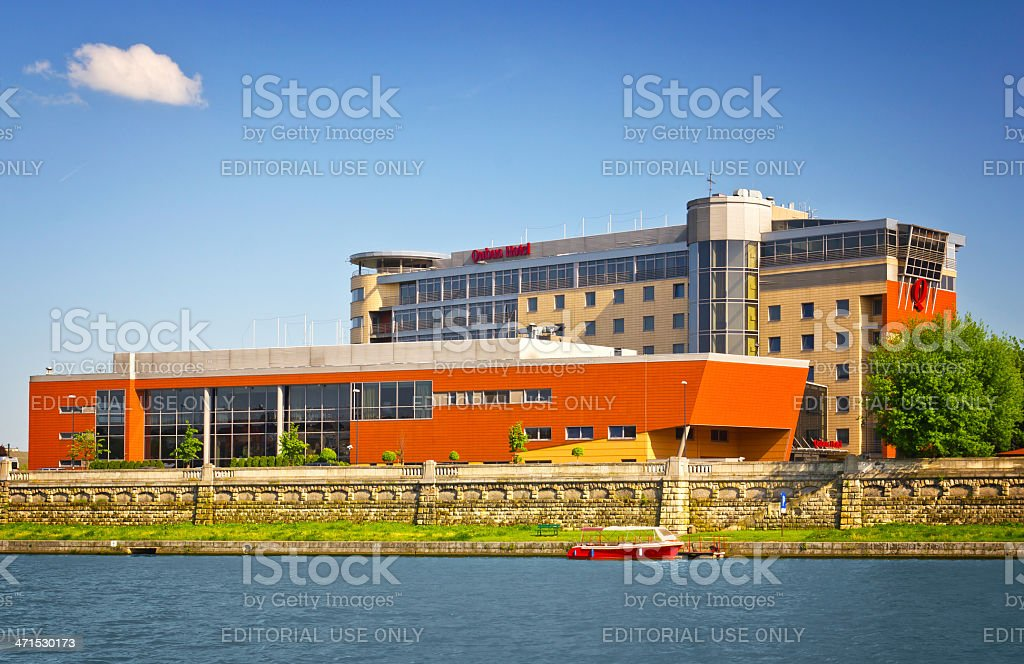 Qubus Hotel in Cracow, Poland royalty-free stock photo