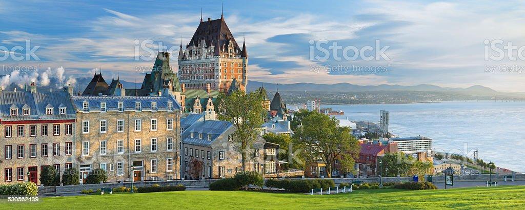 Quebec City Skyline stock photo