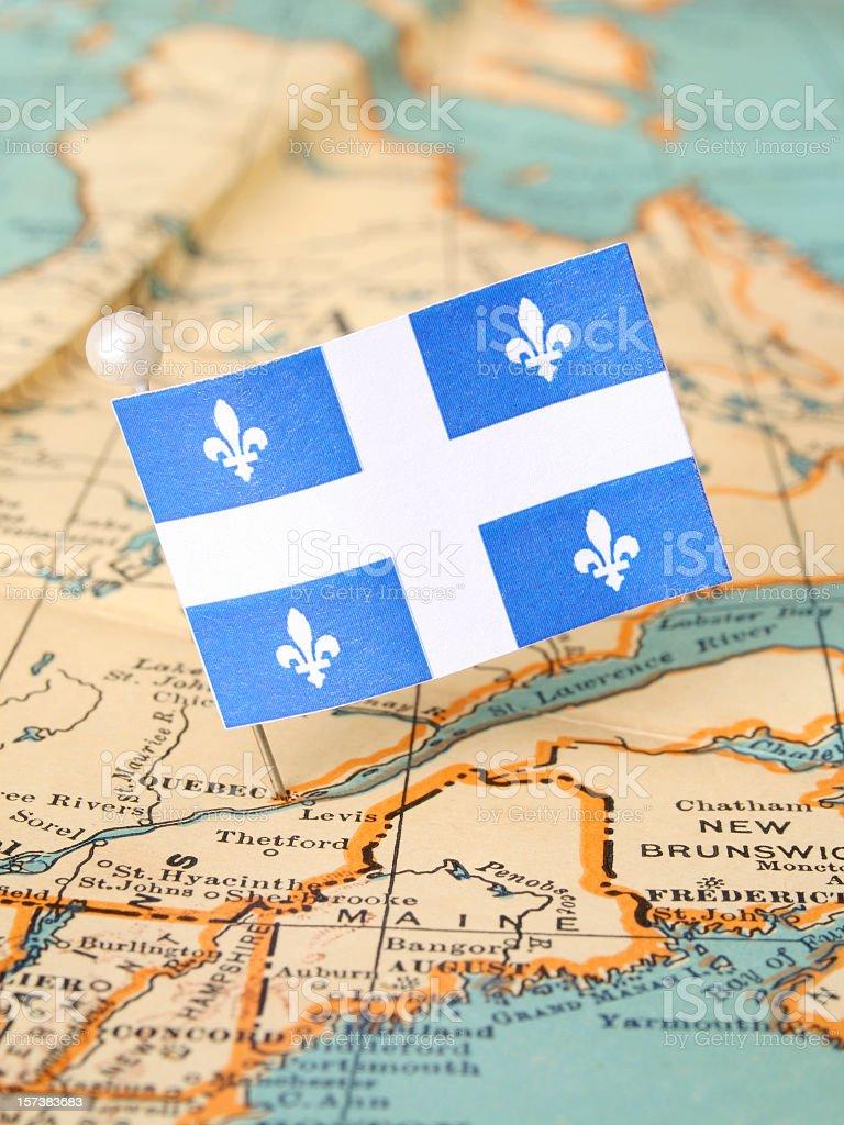 Quebec stock photo