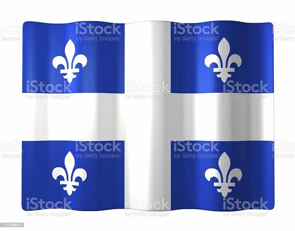 Quebec royalty-free stock photo