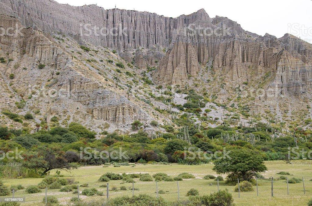 Quebrada de Humahuaca stock photo
