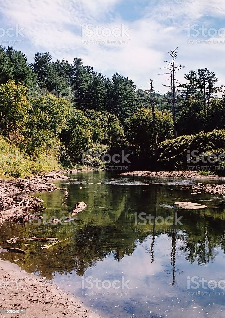 Quechee Gorge, VT royalty-free stock photo