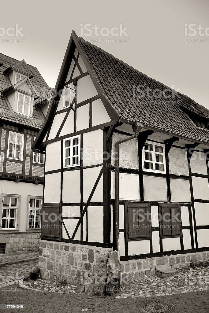 Quedlinburg royalty-free stock photo