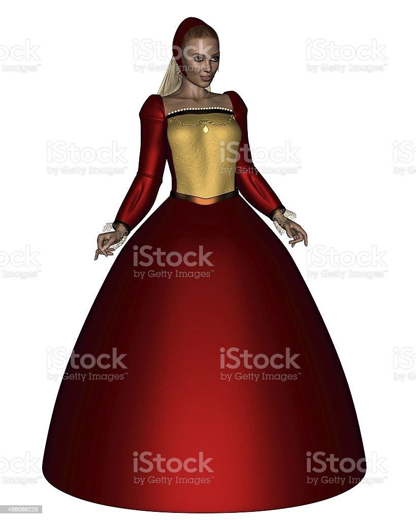Queen Anne Boleyn stock photo