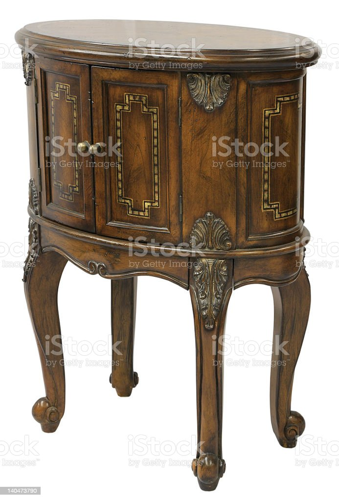 Queen Anne End Table royalty-free stock photo