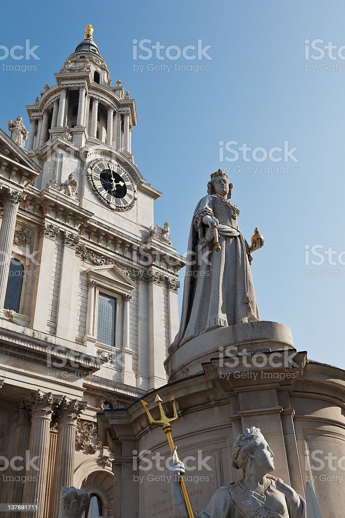 Queen Anne royalty-free stock photo