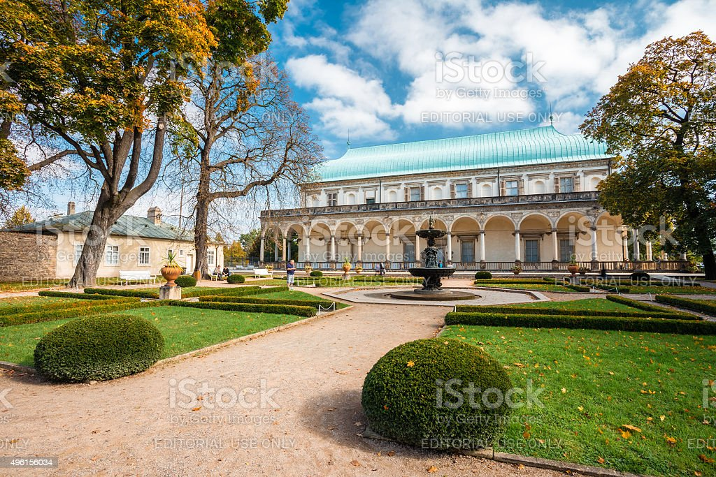Queen Anne's Summer Palace in Prague, Czech Republic stock photo
