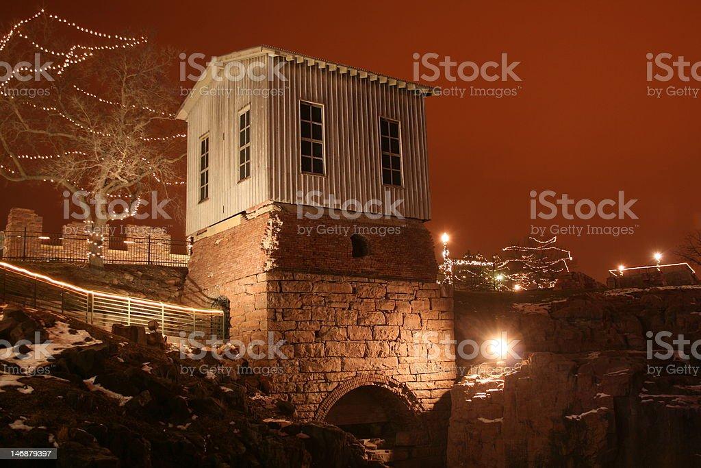 Queen Bee Turbine House royalty-free stock photo
