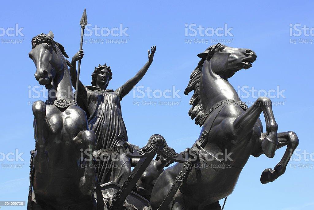Queen Boudica stock photo