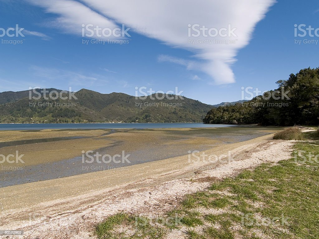 Queen Charlotte Track stock photo