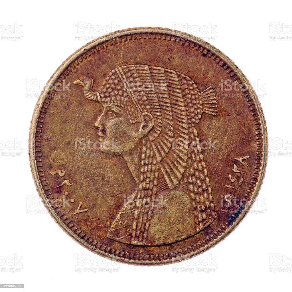 Queen Cleopatra stock photo