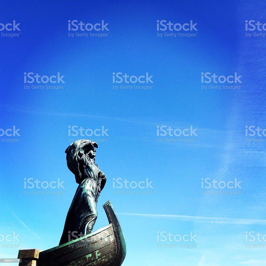 Queen Dagmar stock photo