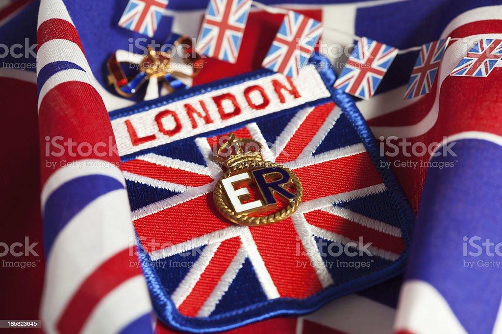 Queen Elizabeth II Celebration royalty-free stock photo