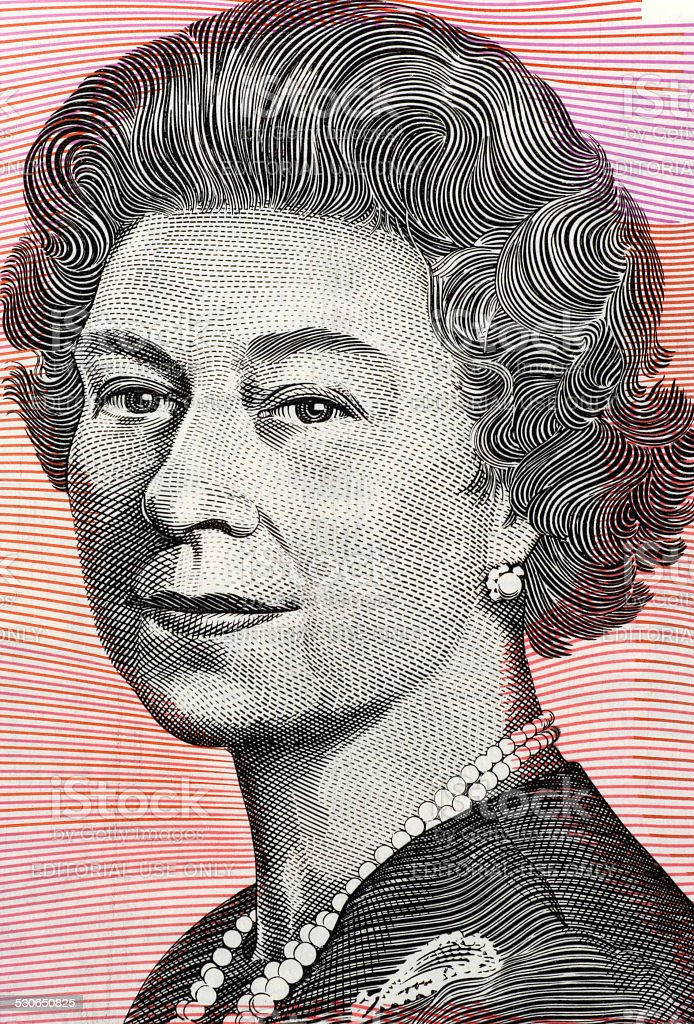 Queen Elizabeth II stock photo