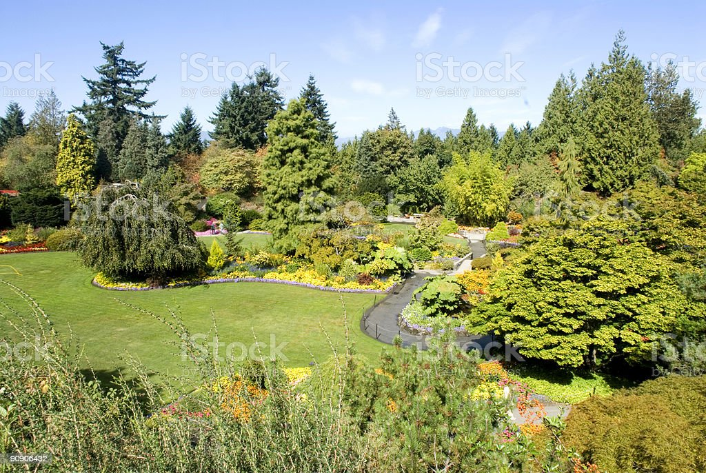 Queen Elizabeth Park, Vancouver, BC 2 stock photo