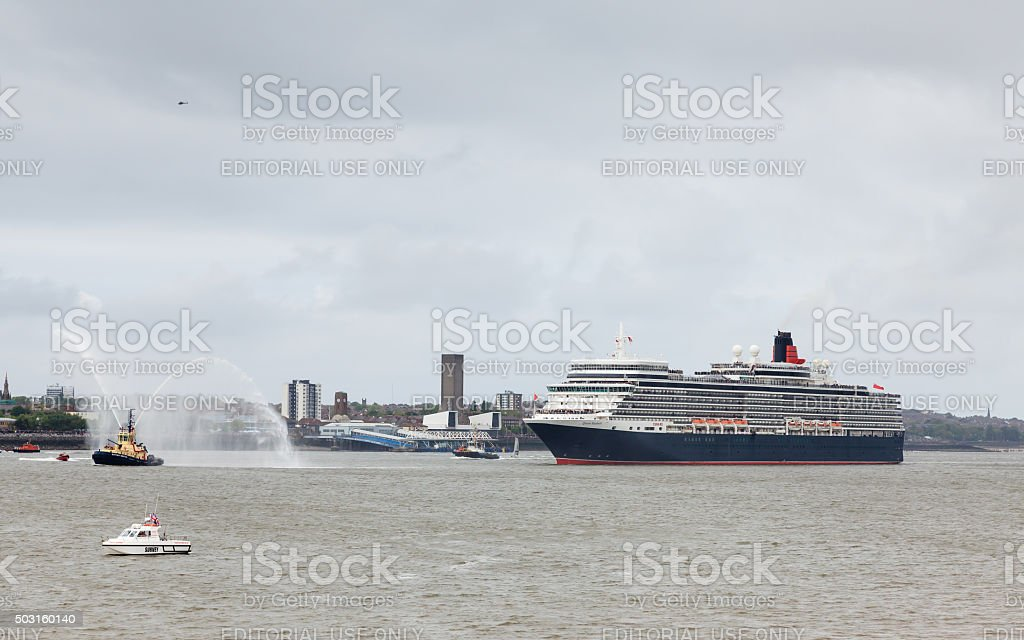 Queen Elizabeth stock photo