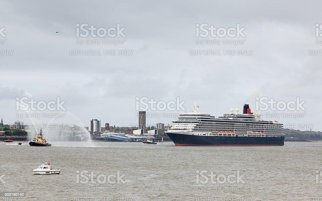 Queen Elizabeth stock photo
