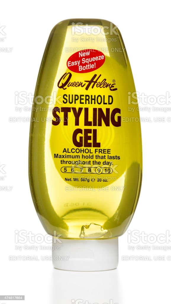 Queen Helene Super Hold styling gel stock photo