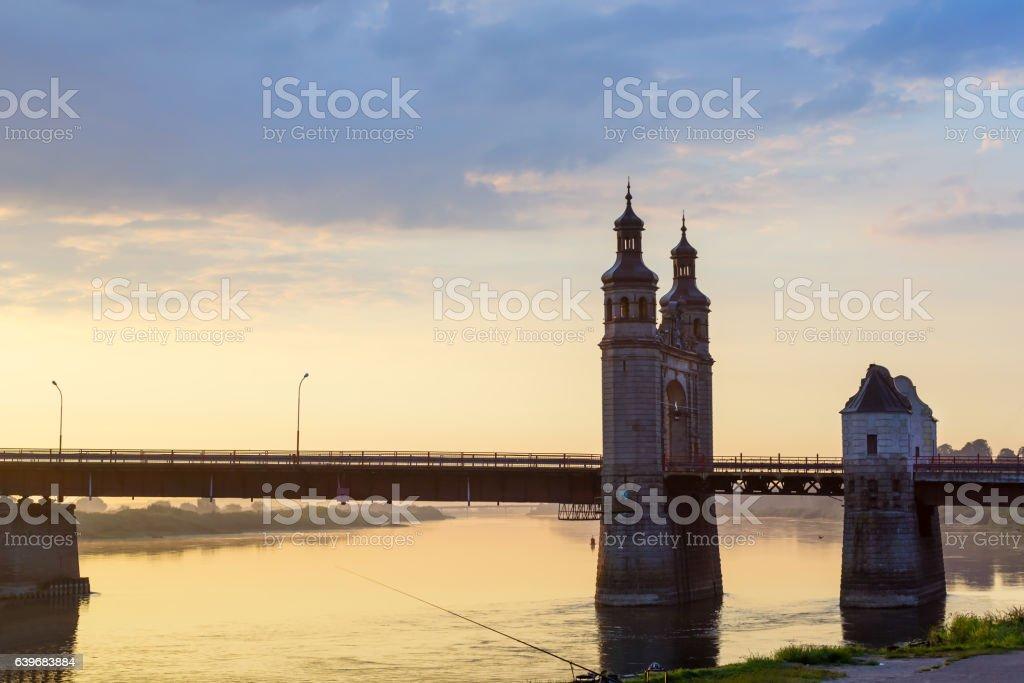 Queen Louise bridge stock photo