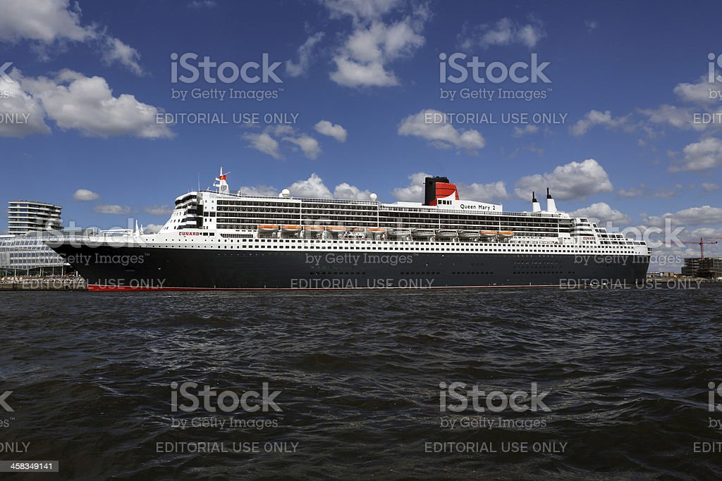 Queen Mary 2 oceanliner stock photo