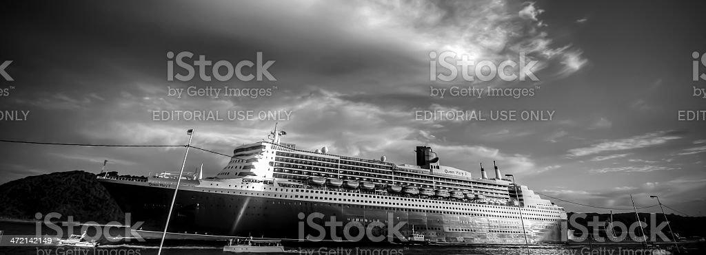 Queen Mary 2 stock photo
