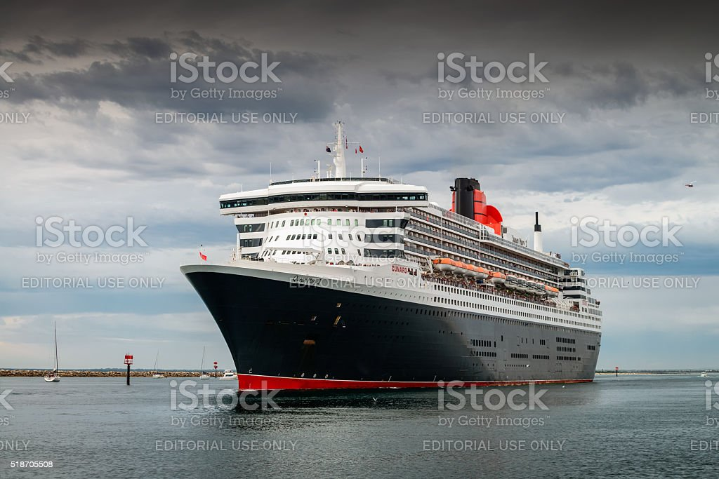 Queen Mary 2 stock photo
