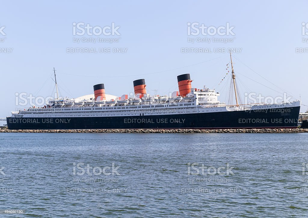 RMS Queen Mary stock photo