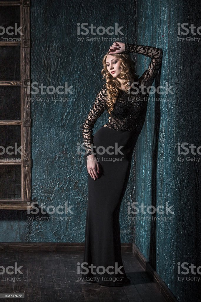 Queen Of Glamor stock photo