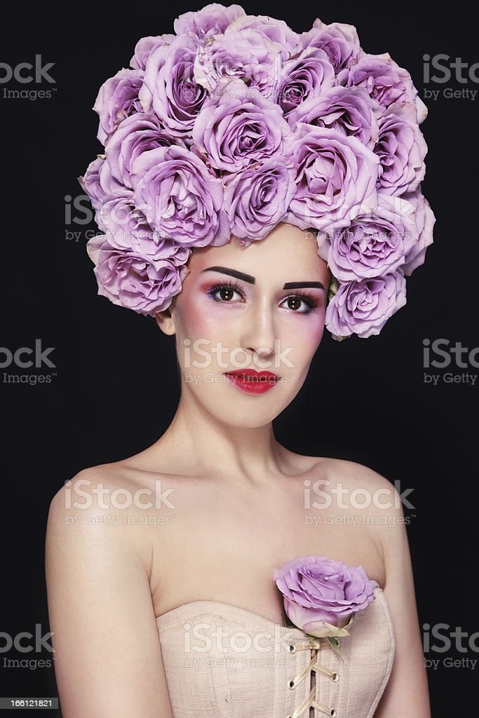 Queen of roses royalty-free stock photo