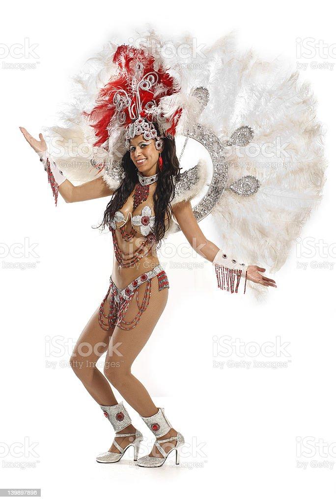 queen of samba nation royalty-free stock photo