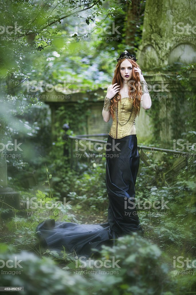 Queen of the forest royalty-free stock photo