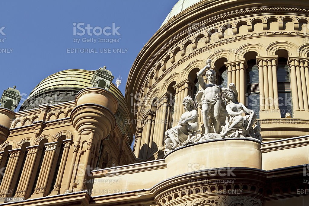 Queen Victoria Building stock photo