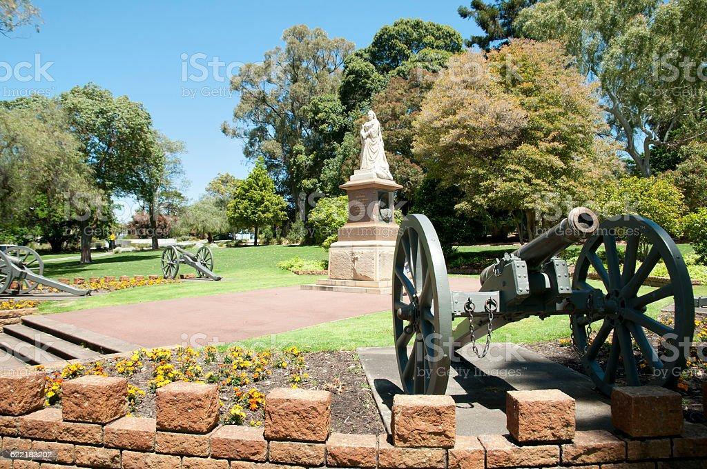 Queen Victoria Memorial - Perth - Australia stock photo
