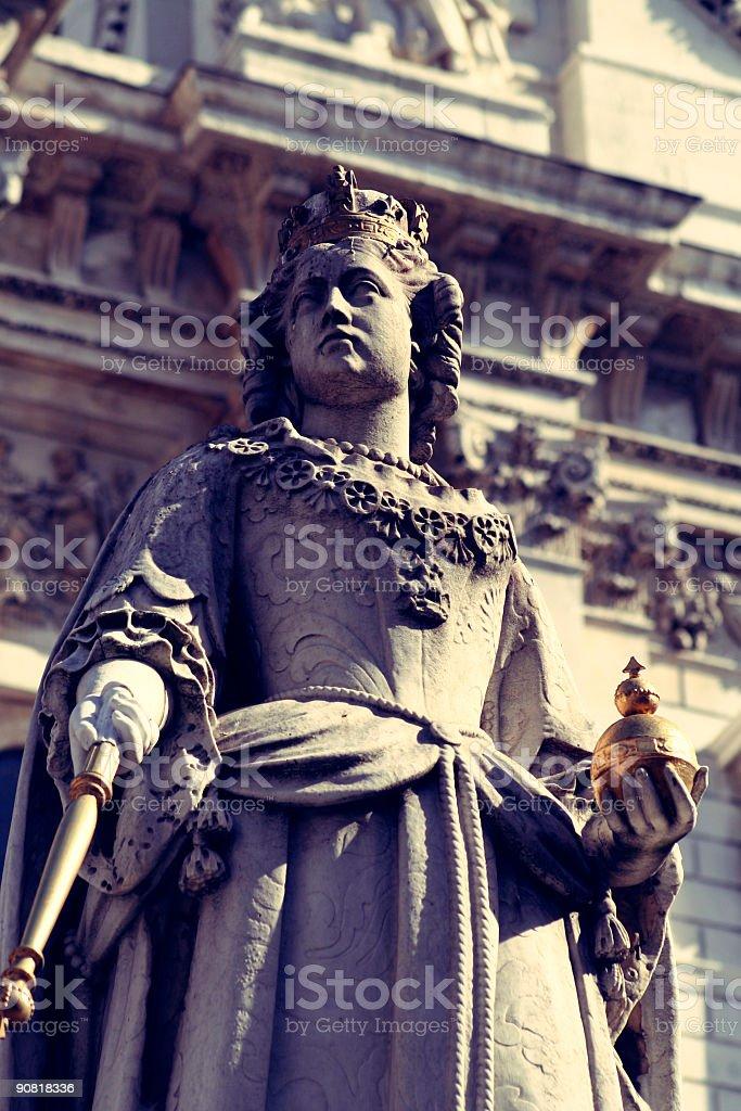 Queen Victoria stock photo