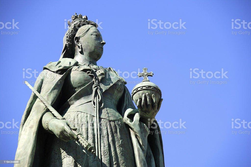 Queen Victoria Statue, Birmingham stock photo