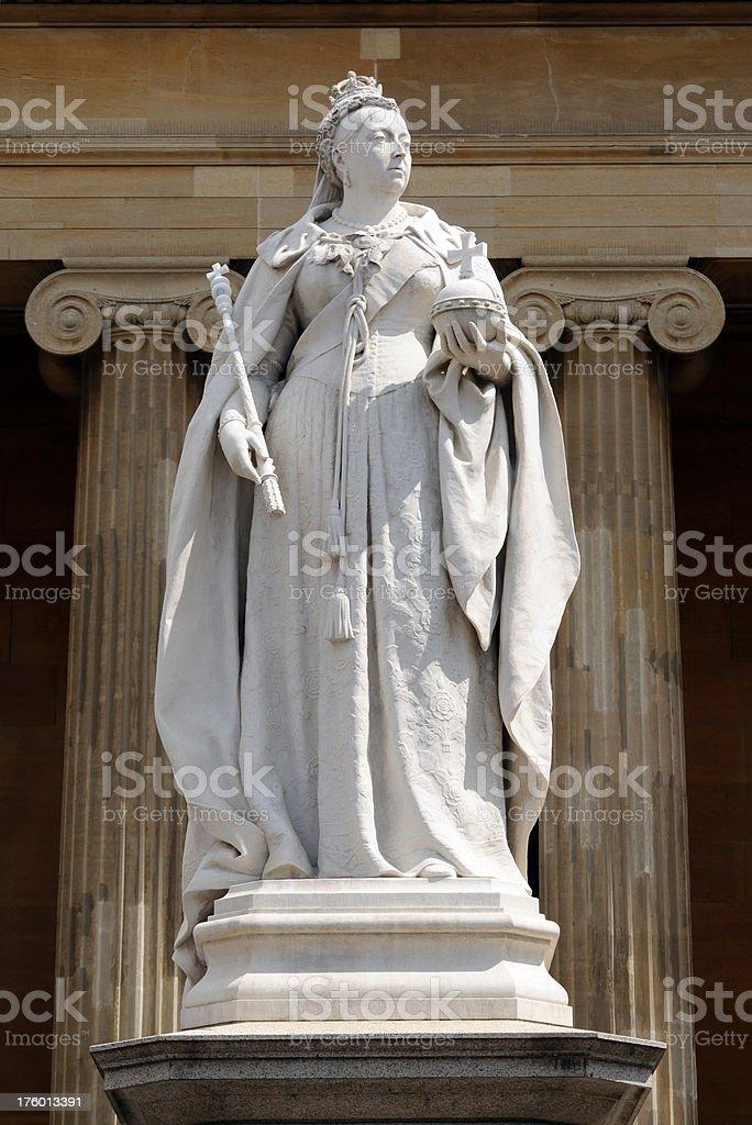 Queen Victoria, Worcester stock photo