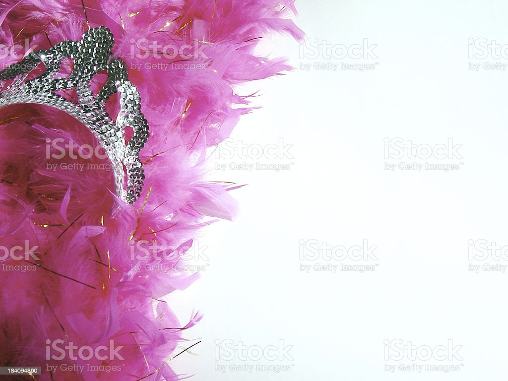 Queenly Attire stock photo