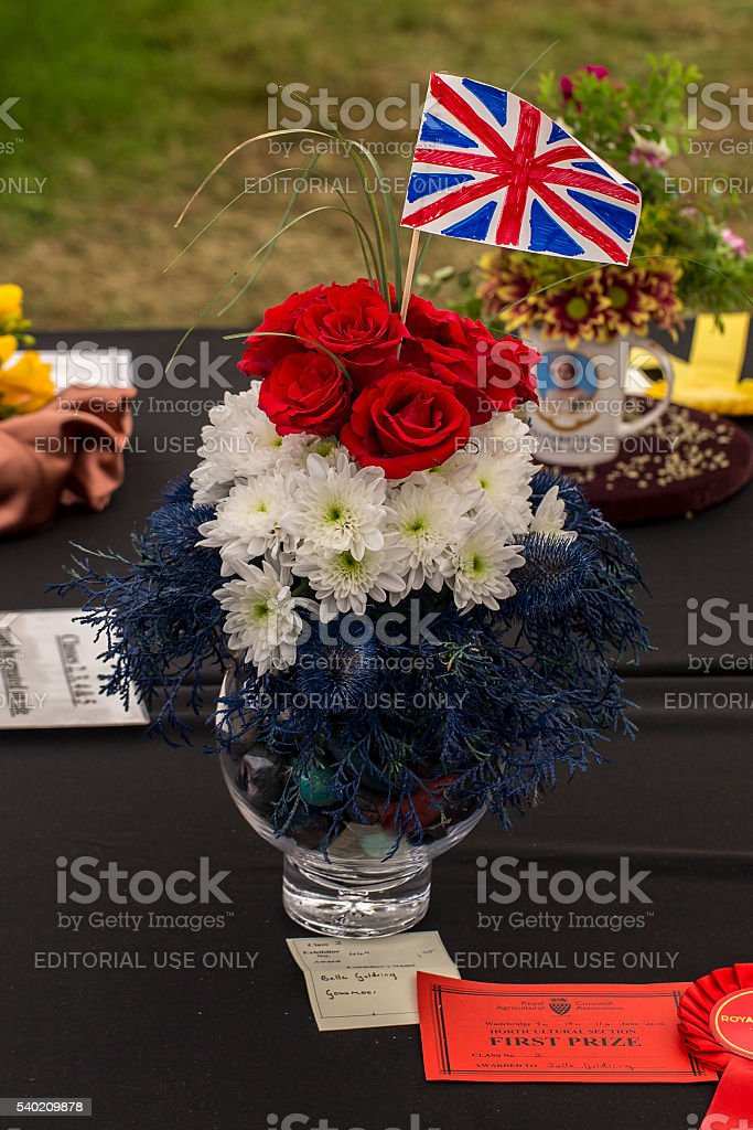 Queens 90th stock photo