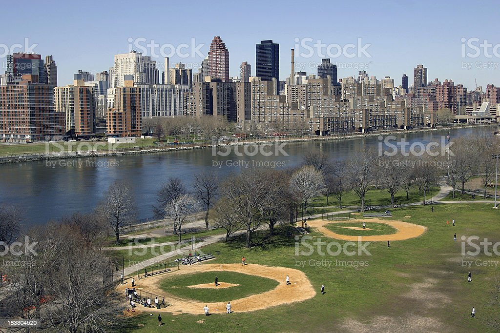 Queens Baseball 1 royalty-free stock photo