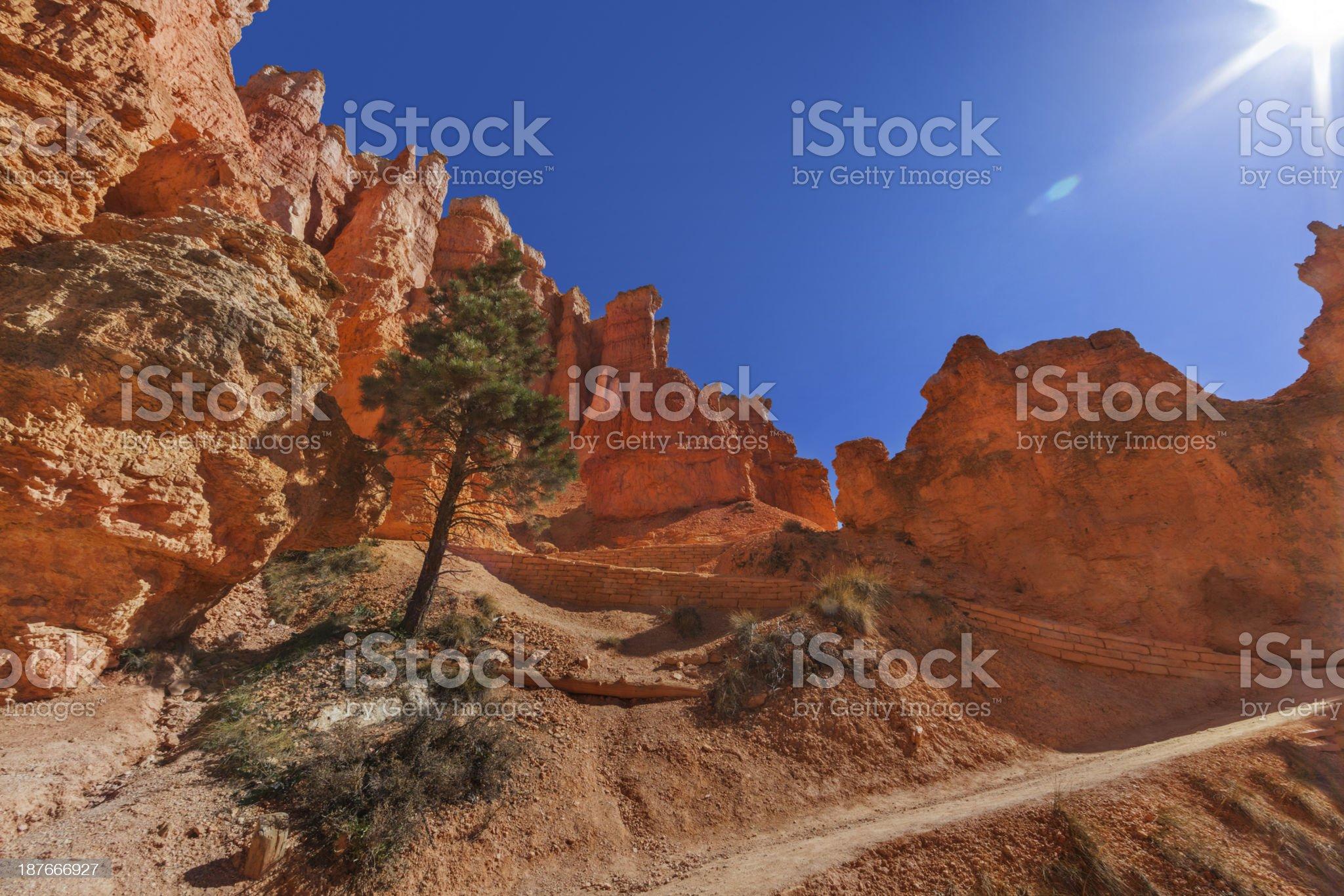 Queen's Garden, Bryce Canyon royalty-free stock photo